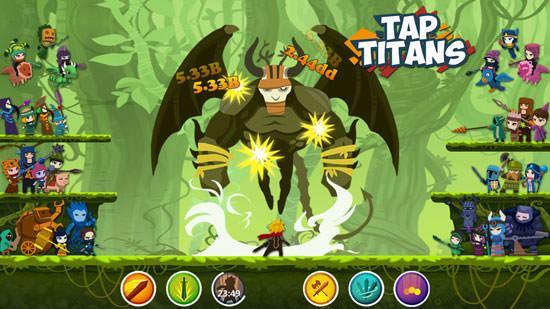 Tap Titans 2 mod features